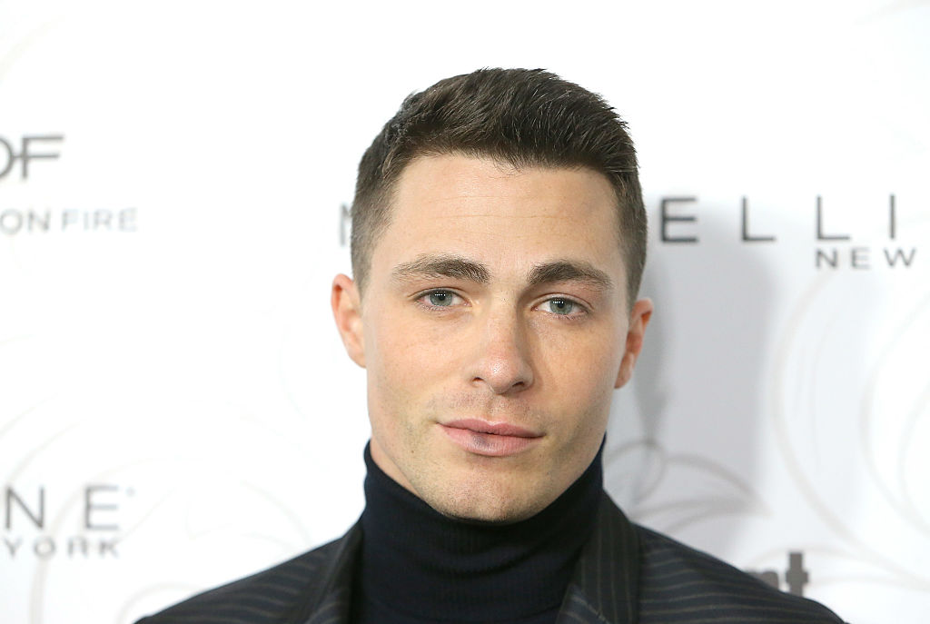 Colton Haynes casually announced that he's going to be a father, we ~think~