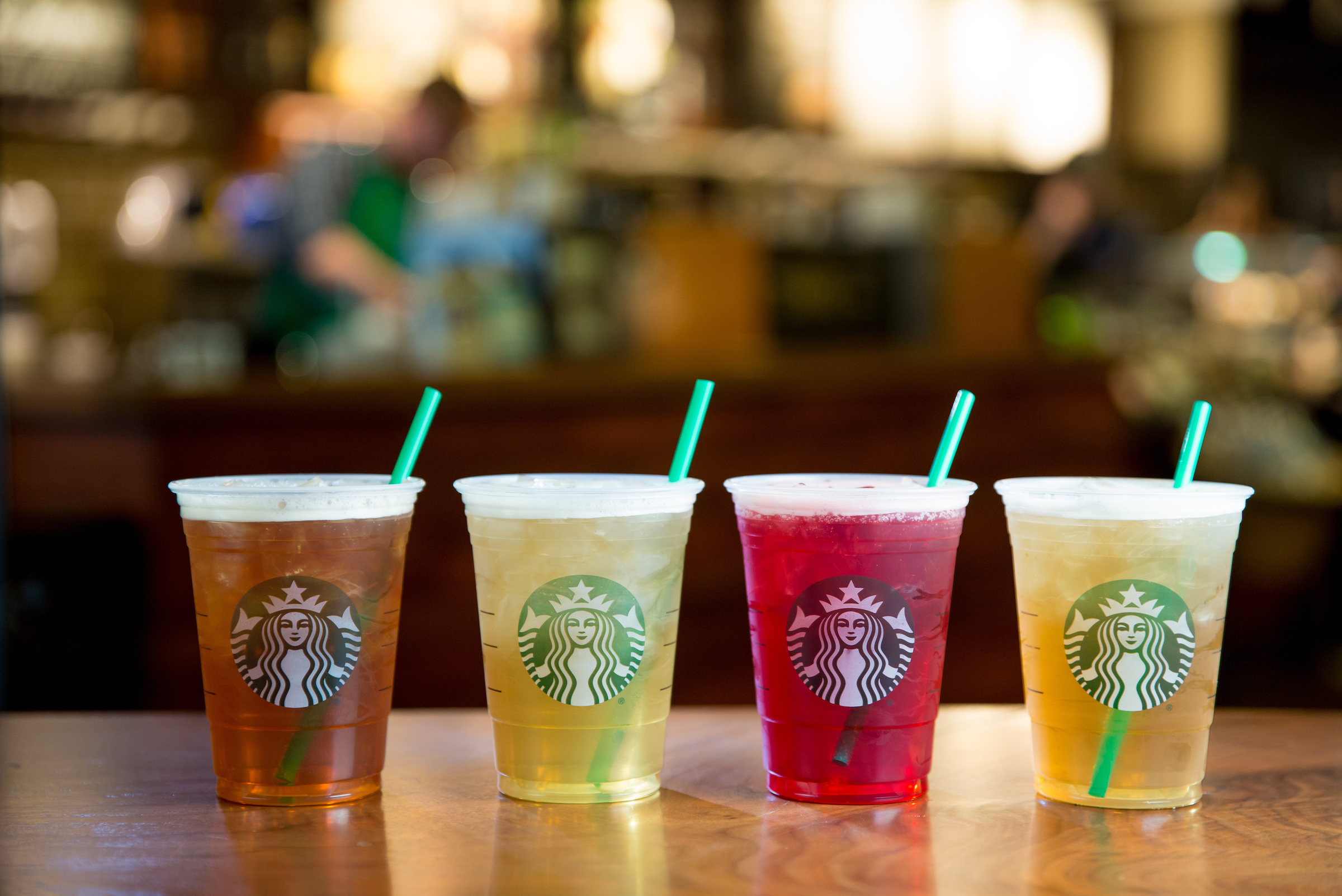 Starbucks' new teas are here to make your rainy spring days a little bit brighter