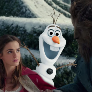 "A clever ""Frozen"" easter egg was cut from ""Beauty and the Beast"" and #rude"