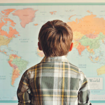 Here's why some US classrooms are replacing traditional world maps