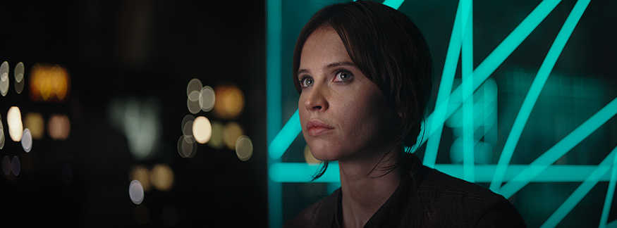 """Jyn was originally supposed to have a MUCH bigger connection to the Jedi in """"Rogue One"""""""