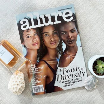 """The internet is loving the diversity in the April 2017 issue of """"Allure"""""""