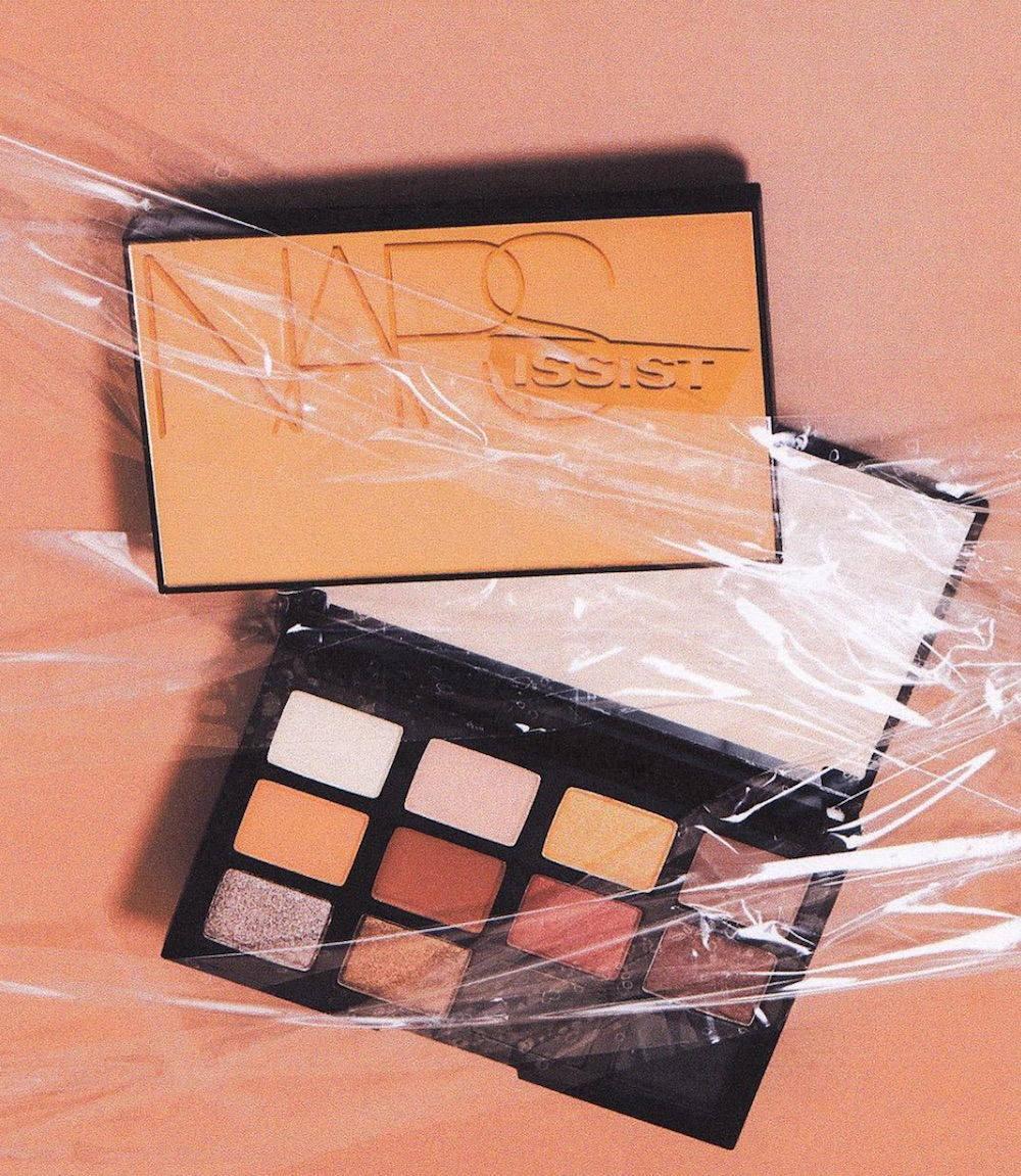 If you miss your pumpkin spice latte, Nars' new copper-toned eyeshadow palette will fill your cravings