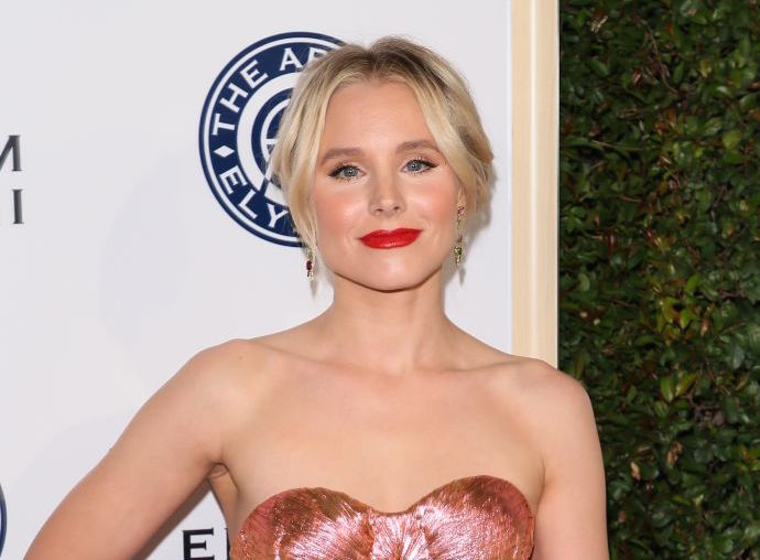 "Kristen Bell has convinced us that ""bumblebee chic"" should be a thing"