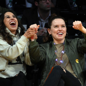 Daisy Ridley went through a whirlwind of emotions at the Lakers game, and luckily we have photos