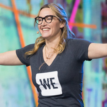 Kate Winslet gave an inspiring speech about overcoming bullying and being body shamed