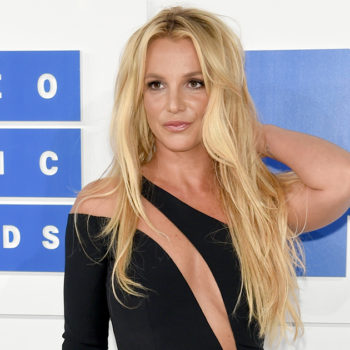 Britney Spears found some dresses and did what anyone would — a mini-fashion show