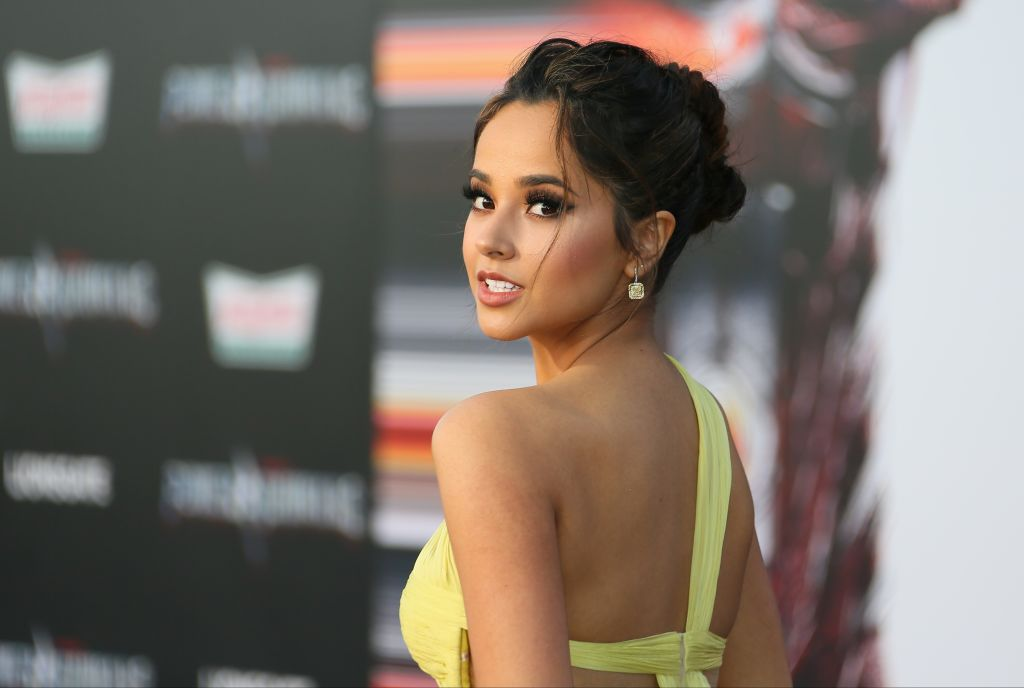 "Becky G.'s dress at the ""Power Rangers"" premiere would be a perfect bridesmaid dress"