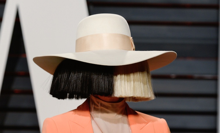 Sia stepped out without her signature wig, and we barely recognized her