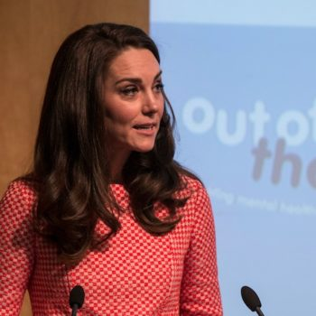 "Kate Middleton says motherhood is ""overwhelming"" — even for a Duchess"