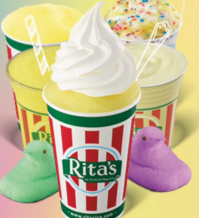 Peeps-flavored Italian ice is coming to Rita's, and here's what we know