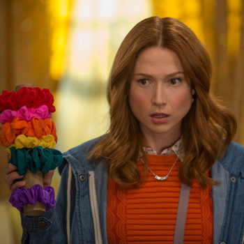 "We're loving Ellie Kemper's cute little bob haircut this season on ""Unbreakable Kimmy Schmidt"""