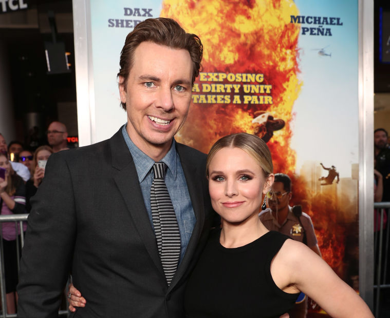 "Kristen Bell and Dax Shepard give us an inside look at their ""Hamilton"" date night"