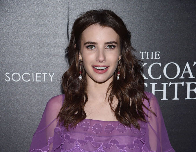 Emma Roberts is bringing the bow fashion trend back, but with a goth twist