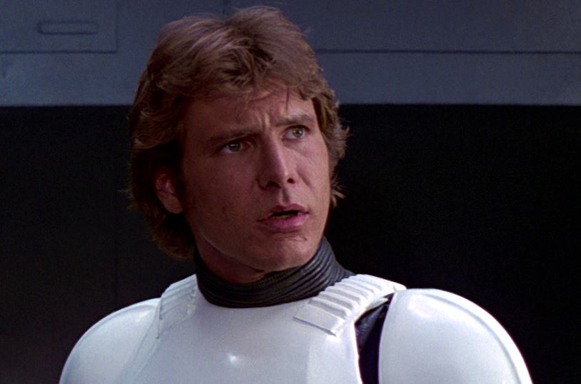 Everything we know is a lie, and Han Solo's name might not actually be *Han Solo*