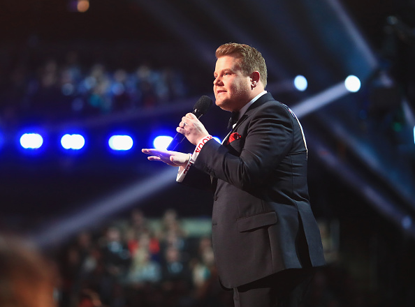 James Corden delivered an emotional tribute to the London attack victims