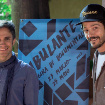 Diego Luna and Gael García Bernal continue to support documentary filmmakers at the Ambulante Film Festival in Mexico