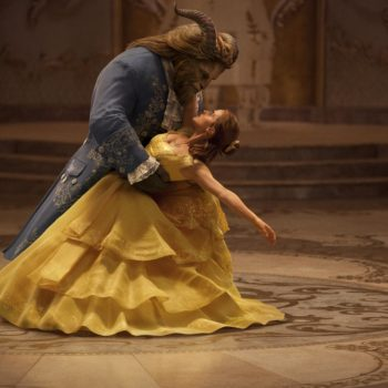 """These alternate """"Beauty and the Beast"""" posters are so minimalistic and *so* perfect"""