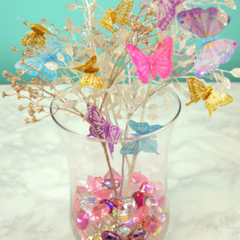 Glam Butterfly Centerpiece