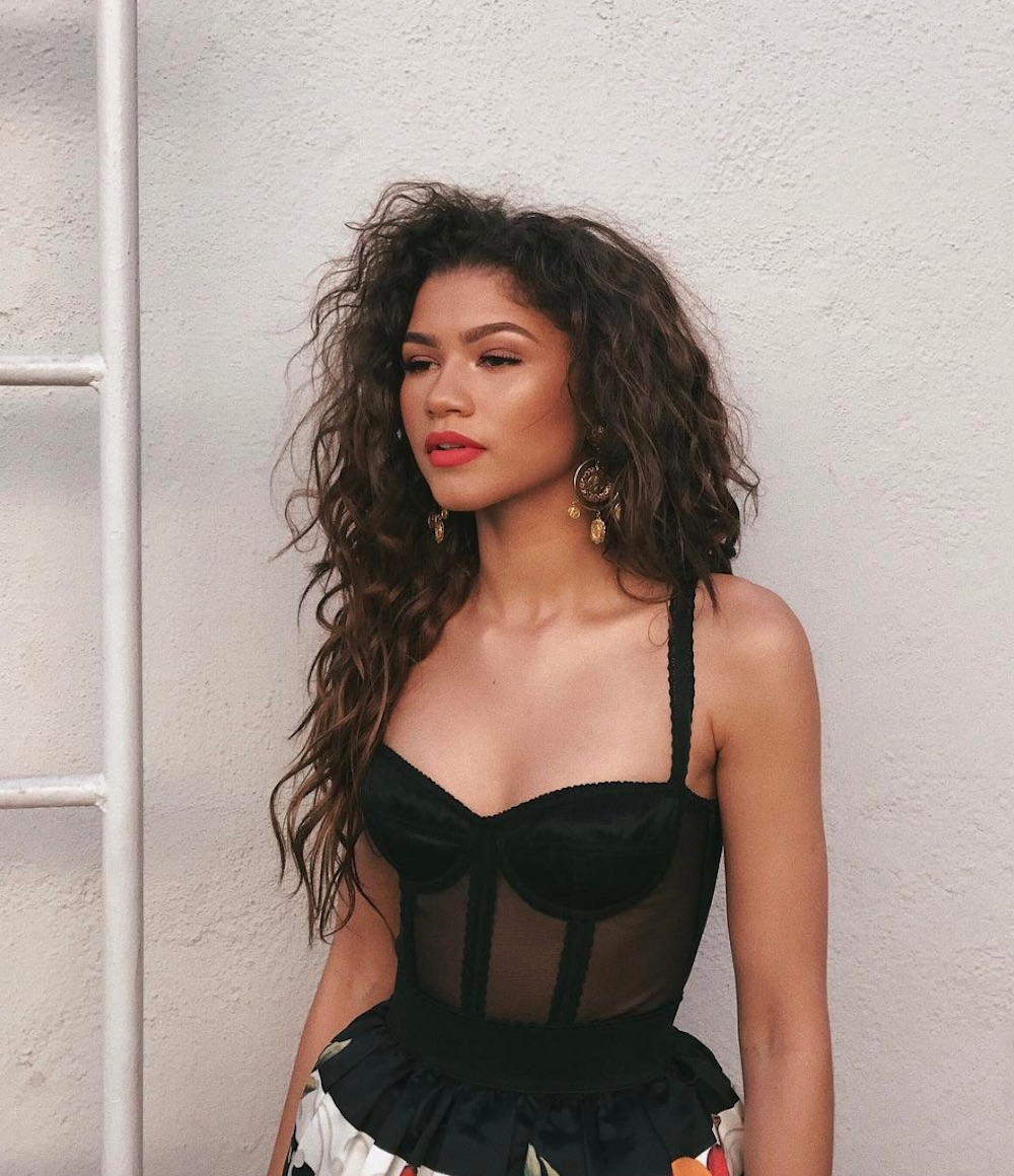 Zendaya's latest look is making us want to take a tropical vacation — here's how to copy her style