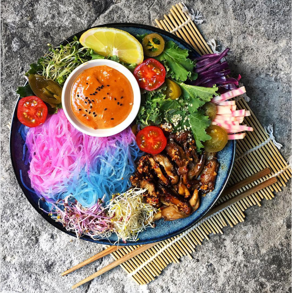 Unicorn noodles are now a trend, because of course they are