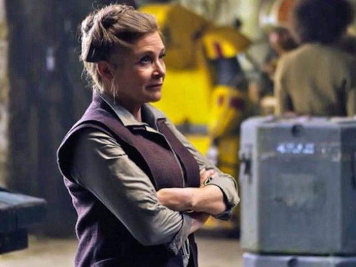 "Rest easy, nothing about ""The Last Jedi"" will change due to Carrie Fisher's death"