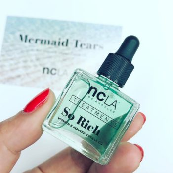 Get Ariel-approved nails with NCLA's new Mermaid Tears cuticle oil