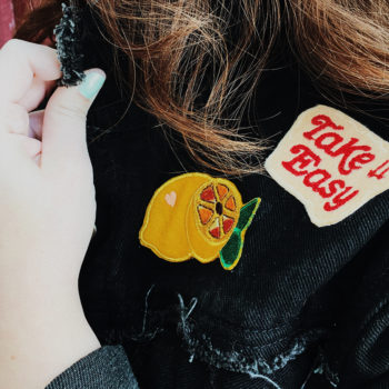 How to make a DIY patch-covered jean jacket (for WAY less than designer look-a-likes)