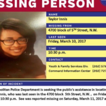 We need to talk about the #MissingDCGirls, and all of the black and Latinx teens who have been reported missing in D.C.