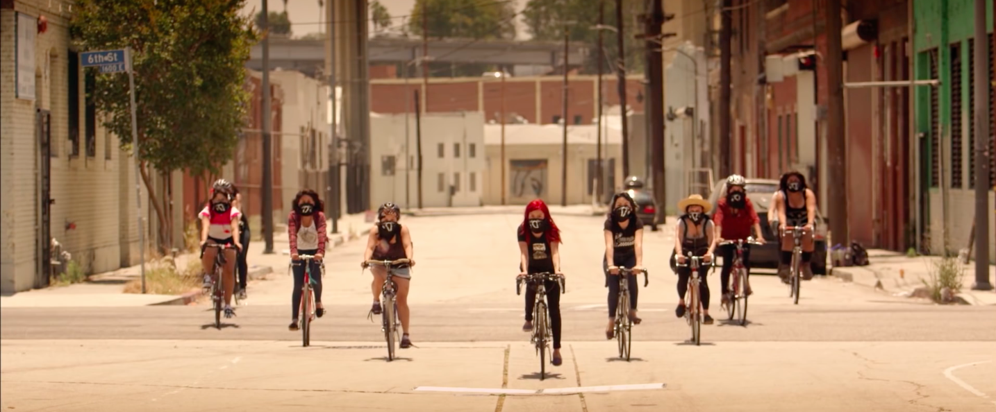 Meet the feminist women of color from East L.A. who are cycling against injustice, racism, and violence