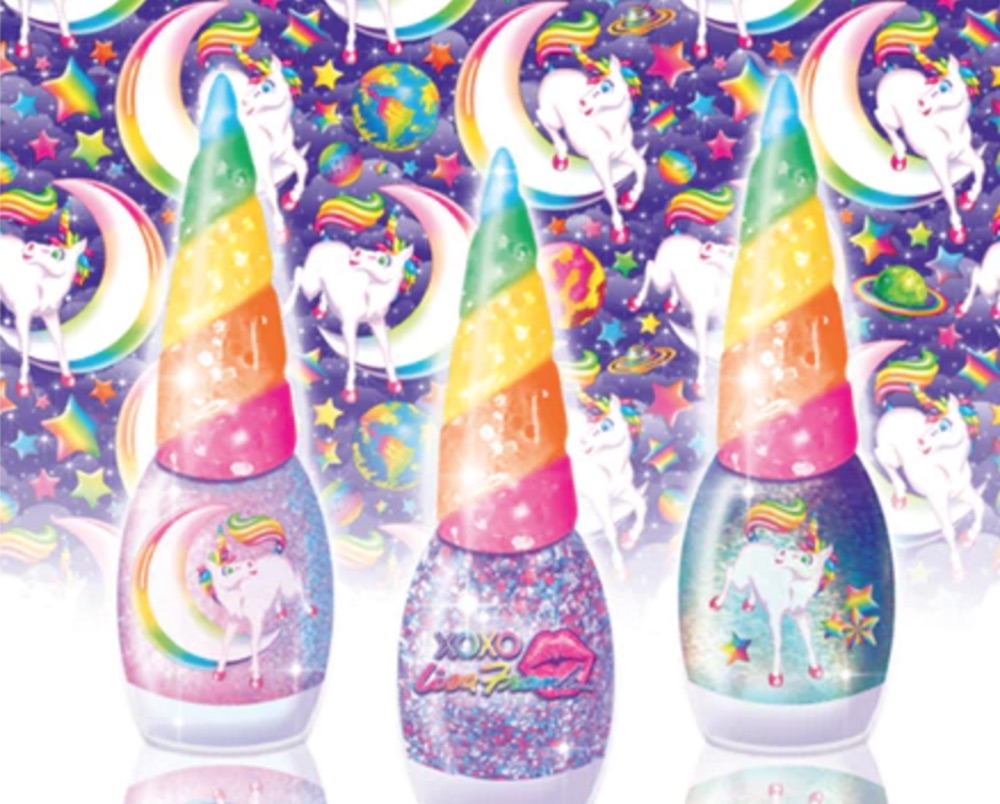 Here's how you can get your hands on this unicorn-inspired Lisa Frank nail polish