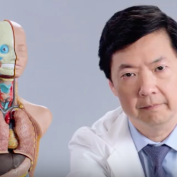 Ken Jeong answered Twitter's medical questions and we FINALLY know what that reflex test is for