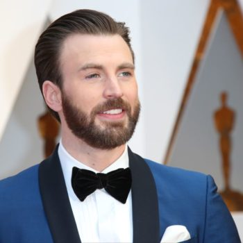 Chris Evans says he wants to be a dad, so let us all sigh in longing