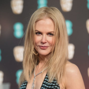 Nicole Kidman's feathery wiggle dress looks perfect for a witch's tea party