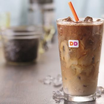 We're drooling for Dunkin' Donuts spring menu additions, especially this tropical coffee