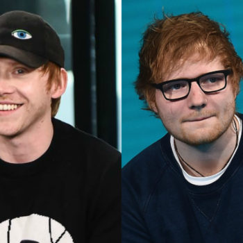 Rupert Grint admitted he's actually Ed Sheeran, and what kind of magic is this?