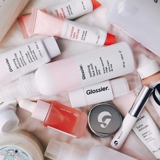 Glossier is working on an eyeshadow, sunscreen, AND a fragrance, so start planning your preorder strategy now