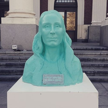 Here's why a bunch of colorful statues of women are popping up all over Bulgaria's capital