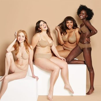 "Target's new lingerie line comes in diverse skin tones for women, because ""nude"" is more than just one color"