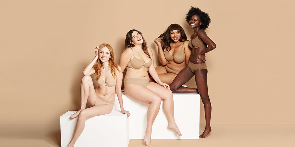 """Target's new lingerie line comes in diverse skin tones for women, because """"nude"""" is more than just one color"""