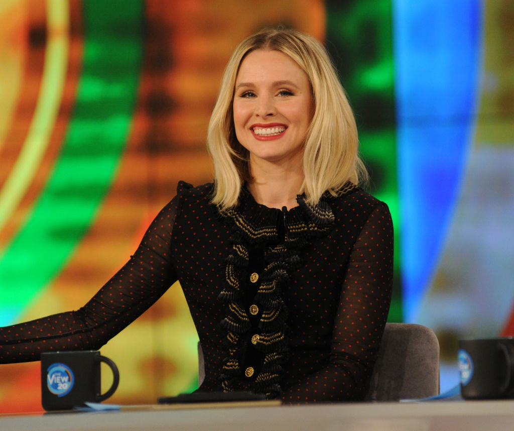 "Kristen Bell stopped pumping breast milk on the set of ""CHiPS"" for the funniest reason"