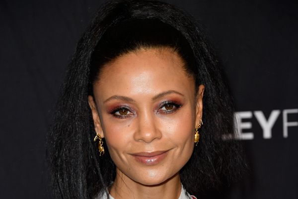 Thandie Newton just made floral sequins our new go-to dressy look for spring