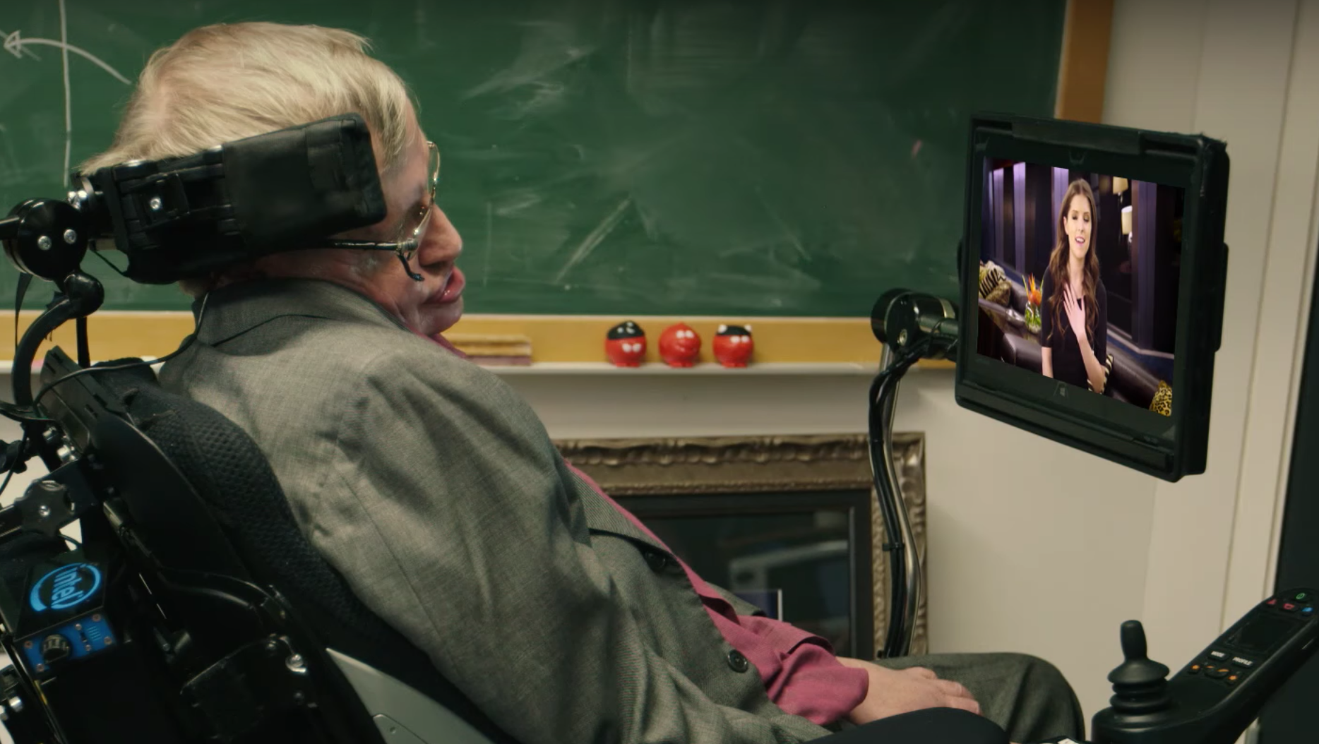 Anna Kendrick and Rebel Wilson are just a few of the celebs vying to be Stephen Hawking's new voice in this hilarious video