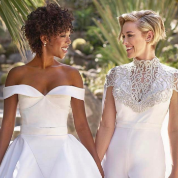 "Samira Wiley's wife just said ""I do"" in an incredible jumpsuit–here's how you can snag her look"