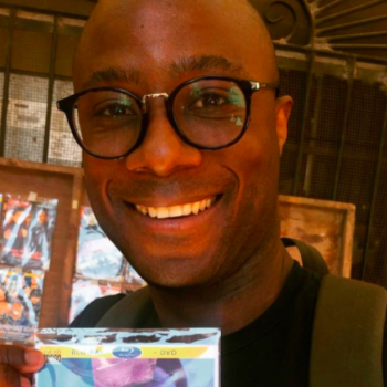 "Barry Jenkins stumbled upon a bootleg copy of ""Moonlight"" in Mexico, and he's smiling"