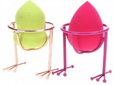 This cute little chickadee holder will keep your BeautyBlender in tip-top shape