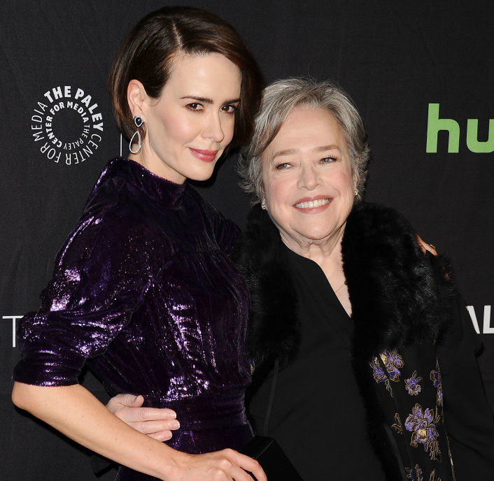 "Kathy Bates just started the best rumor about Sarah Paulson and ""Feud"" Season 2"