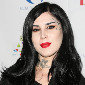 Is Kat Von D starting a new two-faced trend? Her latest makeup look proves she is
