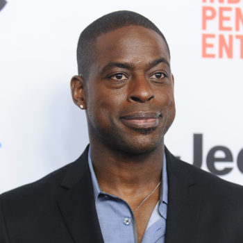 Sterling K. Brown looks very different now, and there's a good reason why