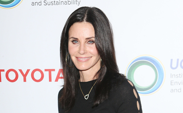 "Courteney Cox has the most beautiful things to say about her time on ""Friends"""